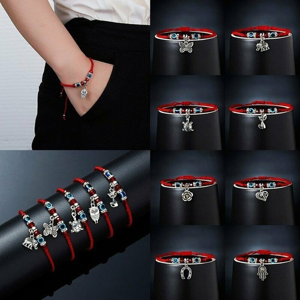 Charm Bracelet, Rope, Fashion, eye