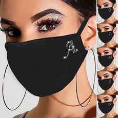 cottonfacemask, DIAMOND, mouthmask, sequinmask