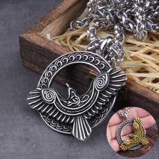Steel, Stainless Steel, punk necklace, Jewelry