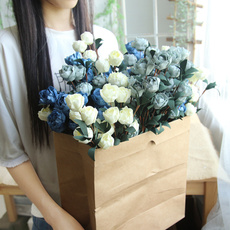 6headsrose, Home & Kitchen, tableflowerdecoration, Flowers