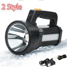 waterproofspotlight, Flashlight, ledhandheldspotlightoutdoor, Rechargeable