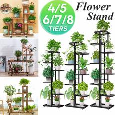 horticulture, flowerrack, plantstand, Garden