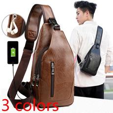 waterproof bag, Shoulder Bags, usb, business bag