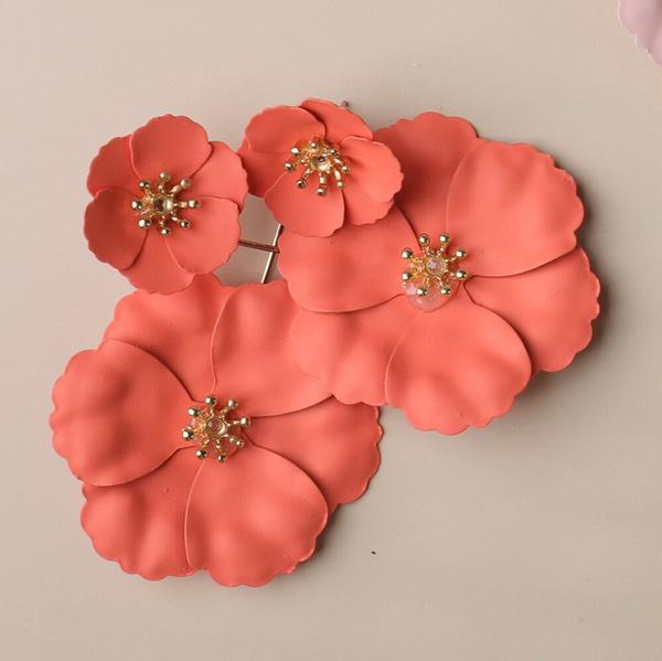 Korea fashion, Flowers, Jewelry, for