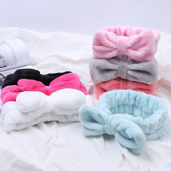 Bath, facemakeup, sportshairband, cutehairband