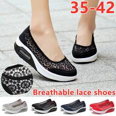 casual shoes, Fashion, Lace, rockingshoe