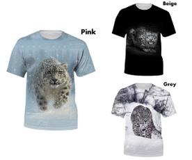Mens T Shirt, Funny T Shirt, animal print, Summer