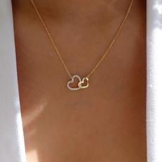 Heart, bridalnecklace, DIAMOND, Jewelry