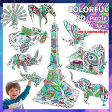 3dpuzzlesforkid, giftsfor11yearoldgirl, 3dcoloringpuzzle, Toy