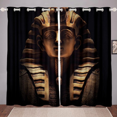 egyptstylecurtain, cortinasdequarto, tutankhamen, blackoutcurtain