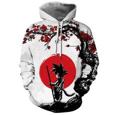 Dragonball, Casual Hoodie, pullover hoodie, anime hoodie