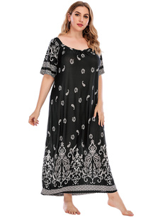 Print, Moda femenina, Plus Size, Vestidos