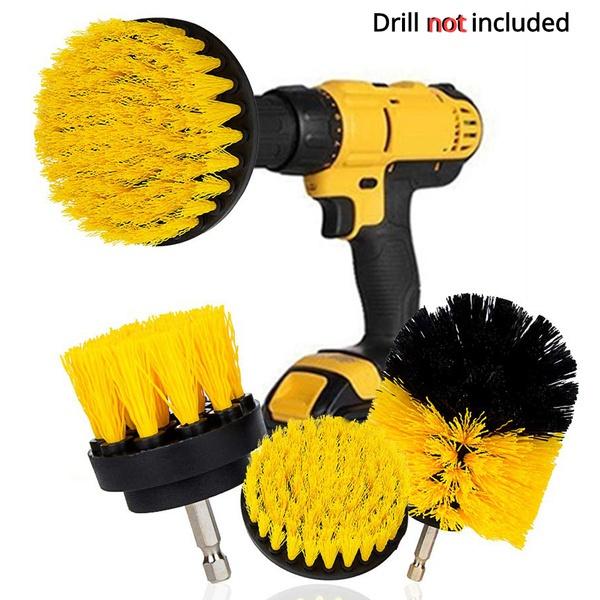Cleaner, drillbrushattachment, powerscrubber, drillbrush