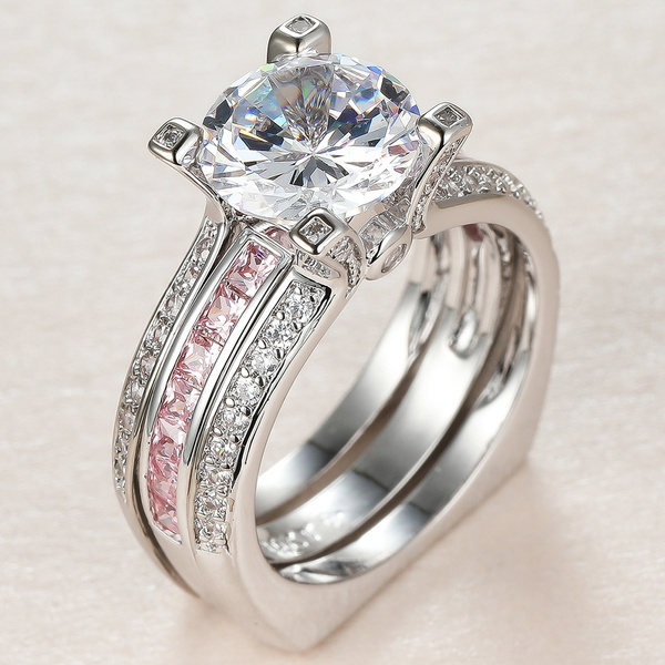 DIAMOND, gold, Simple, 18k gold ring