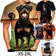 cute, Fashion, Shirt, rottweiler