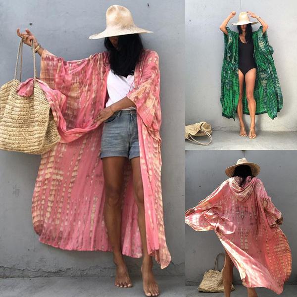 Fashion, Long Sleeve, Cover, Dress