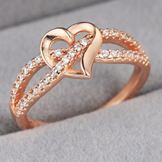 Engagement, Jewelry, Silver hearts, Silver Ring