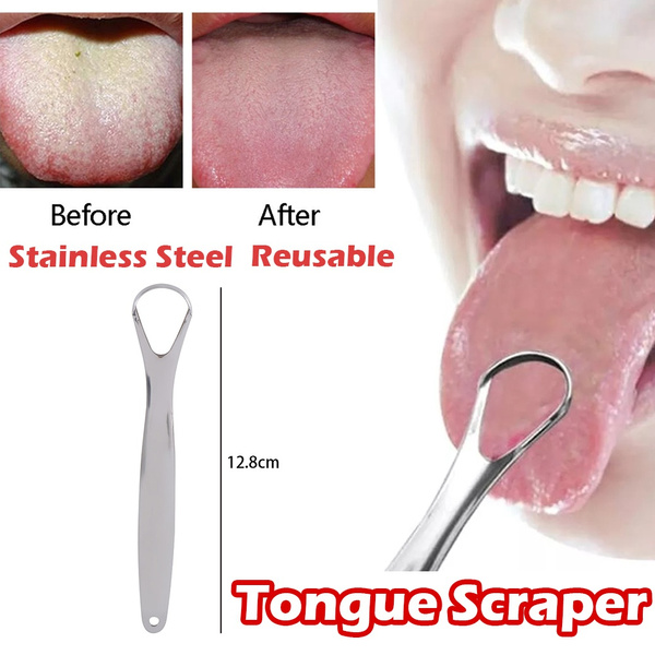 Steel, oralcare, tonguecleanerscraper, Stainless Steel