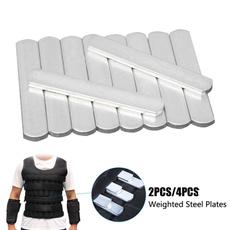 Steel, Vest, Outdoor, Fitness