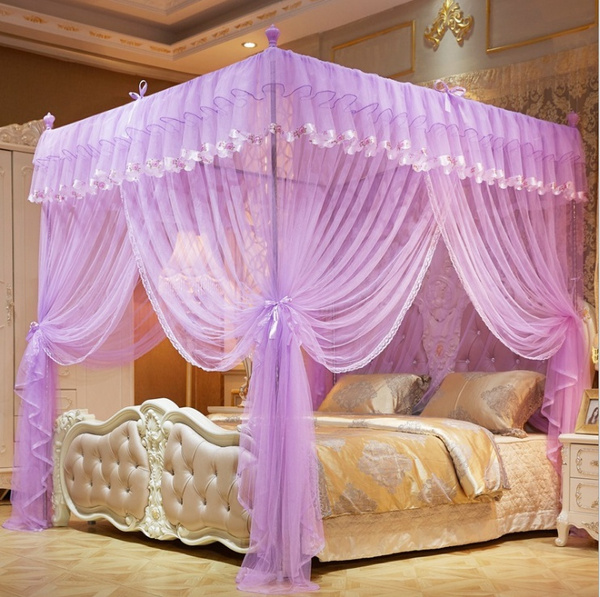 pink, King, Beds, Luxury