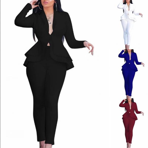 businesssuit, Two-Piece Suits, Office, womensset