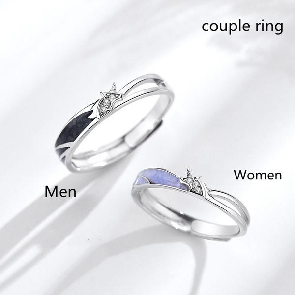 Couple Rings, cute, DIAMOND, wedding ring