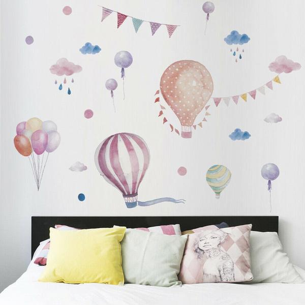 art, room, hotair, Balloon