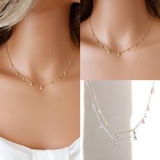 Copper, Chain Necklace, DIAMOND, Jewelry
