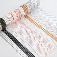 latticebordersticker, Masking tape, washitape, Stickers