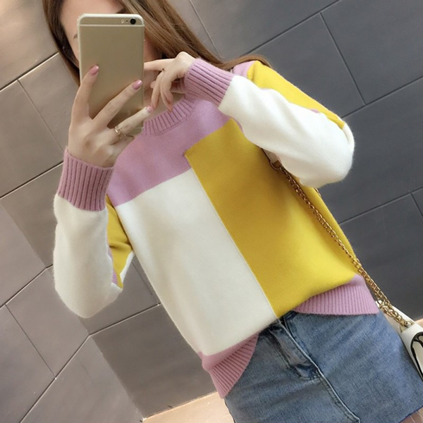 knitwear, Fashion, Winter, candy color