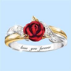 Sterling, DIAMOND, Love, wedding ring