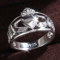 claddaghring, Sterling, Engagement, celticknot