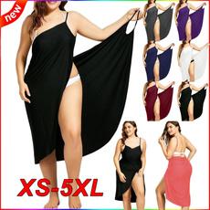 Summer, Plus Size, Fashion, long dress