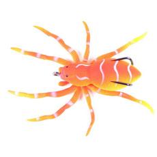 spiderswimminglure, Silicone, freshwaterfishinglureskit, spiderbait