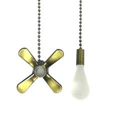 pullchainextension, fanpullchain, Chain, Copper