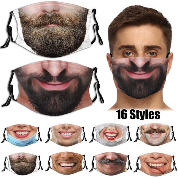 Funny, mouthmask, Masks, funnyfacemask