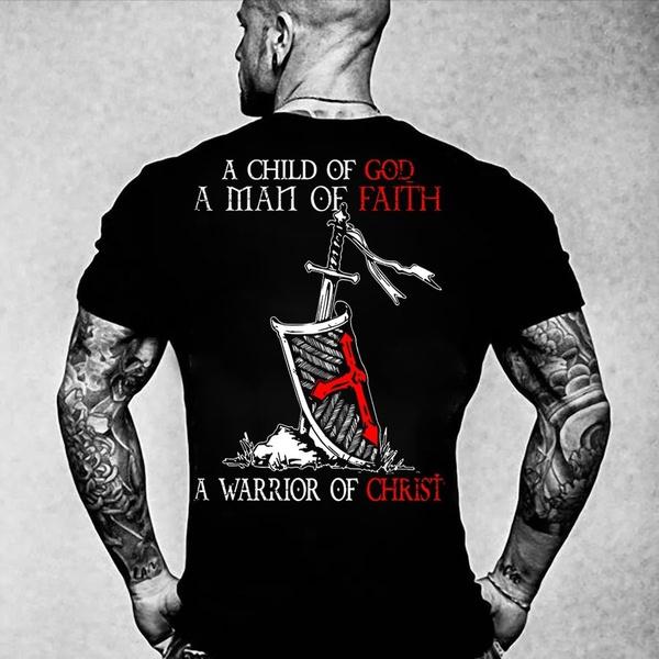 crossshirt, christshirt, warriorshirt, godshirt