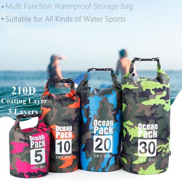 waterproof bag, case, Fashion, camping