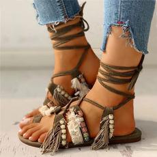 bandageshoe, beach shoes, Sandalias, Moda