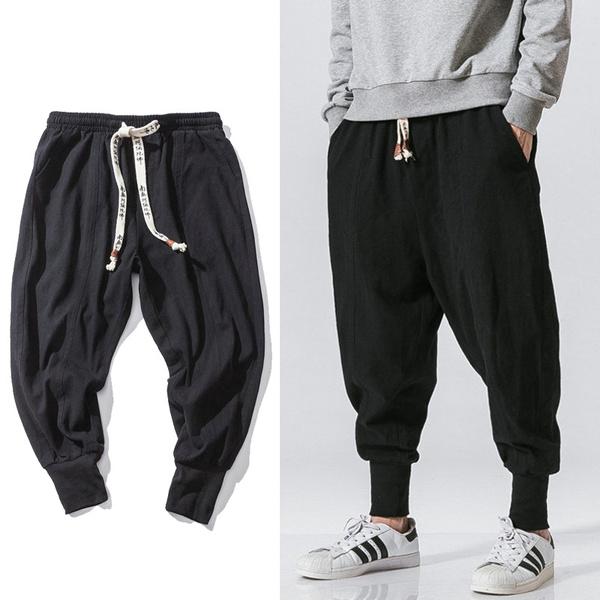 harem, Plus Size, skinny pants, Casual pants