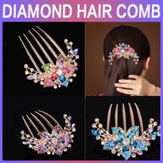 Fashion, headdress, Jewelry, diamondcomb