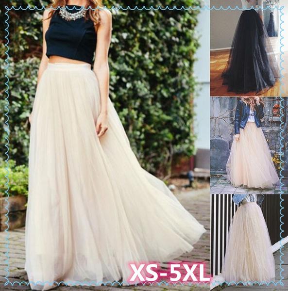 gowns, long skirt, Plus Size, weddingskirt