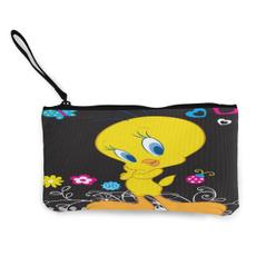 zipperbag, Canvas, purses, Women's Fashion