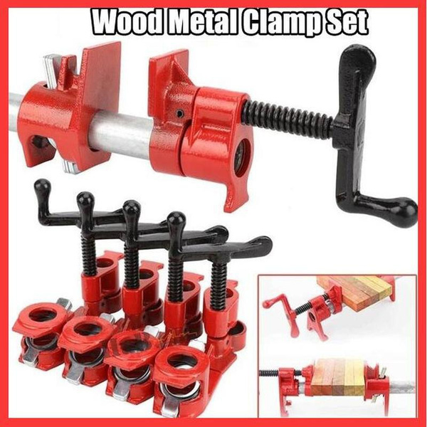 clamp, Wood, squeeze, pipeclamp
