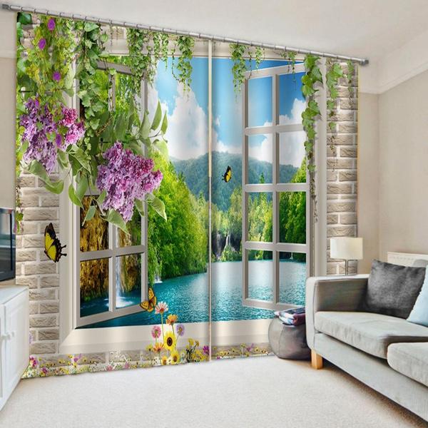 3dcurtain, curtainsforbedroom, blackoutcurtain, windowtreatment