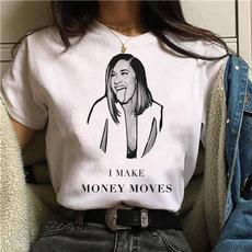 Plus Size, Fashion, Cotton T Shirt, korean style
