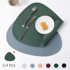 tablemat, Modern, Coasters, leatherplacemat