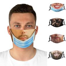 cottonfacemask, Funny, prankmask, Masks