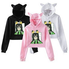 myheroacademia, hoodies for women, Cropped Hoodie, shortlength