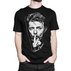 Graphic, Shirt, bowie, Men
